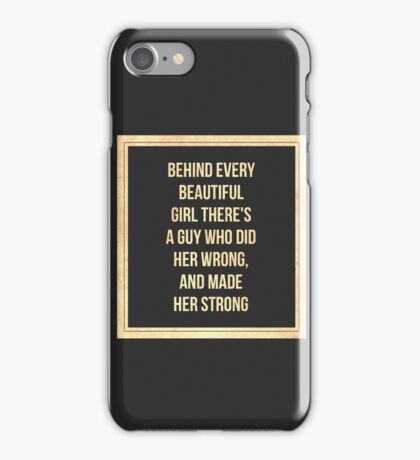 Cute And Inspirational Quote  iPhone Case/Skin