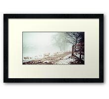 A Welsh Winter Framed Print