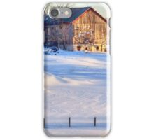 Snowy Farm iPhone Case/Skin