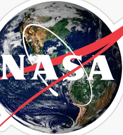 NASA Close to Home / Earth Sticker