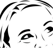 Mary Apologist (w/ halo) Sticker