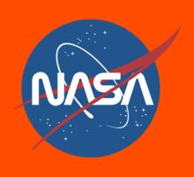NASA Future Retro Kids Tee
