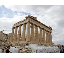 The Parthenon, Acropolis, Athens, Greece, UNESCO word heritage site Photographic Print