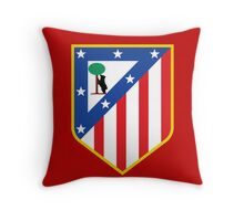 atletico madrid Throw Pillow