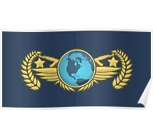 Global Elite Emblem V2 Poster