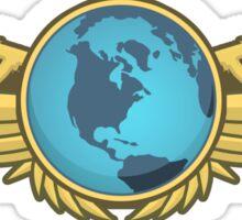 Global Elite Emblem V2 Sticker