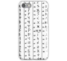 The angerthas iPhone Case/Skin