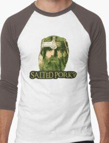 Salted Pork Men's Baseball ¾ T-Shirt