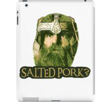 Salted Pork iPad Case/Skin