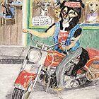 Harley Dog by pinkyjainpan