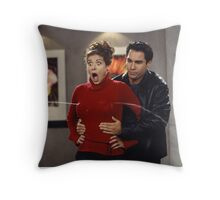 Das Boob Throw Pillow