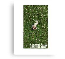 Captain Swan Canvas Print