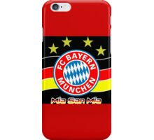 bayern munich  iPhone Case/Skin