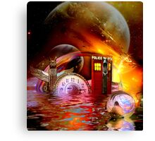 Wrong Turn Halfway Past Arcturus Canvas Print