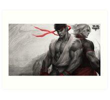 Street Fighter Art Print