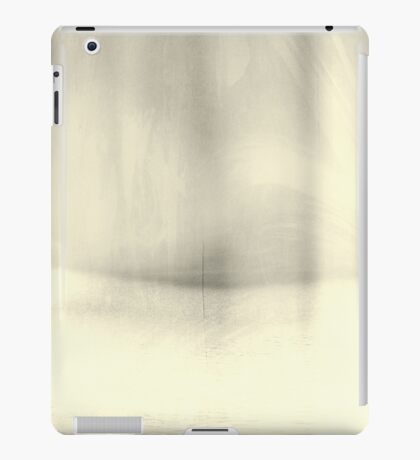Abstract Minimal Silver Toned Landscape  iPad Case/Skin