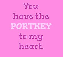 You Have The PORTKEY To My Heart - Valentine's Day by pottergod