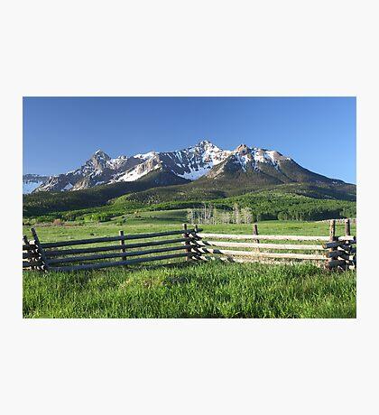 A Colorado Morning Photographic Print