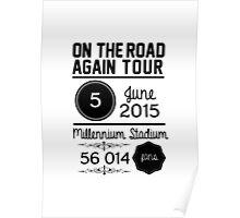 5th june - Millennium Stadium OTRA Poster