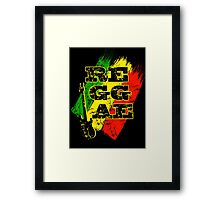 reggae, guitar Framed Print