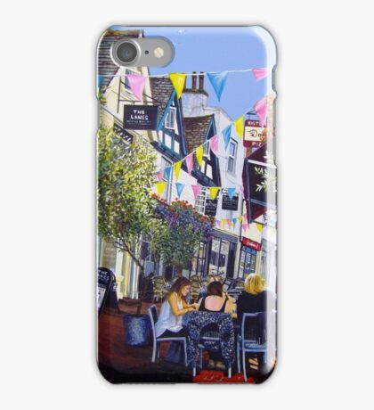 Lunch in the Lanes iPhone Case/Skin