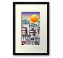 City Morning Framed Print