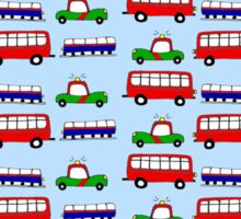 Busy traffic Sticker
