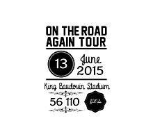 13th June - King Baudouin Stadium OTRA Photographic Print