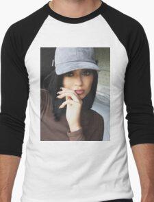 Kylie Jenner Hat 2 Men's Baseball ¾ T-Shirt