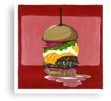 Everything Burger Canvas Print