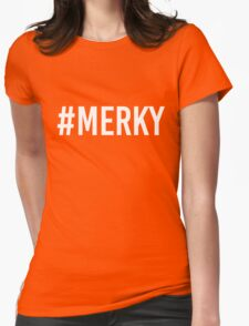 STORMZY #MERKY WHITE Womens Fitted T-Shirt