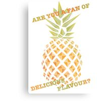 Are you a fan of delicious flavour? Canvas Print