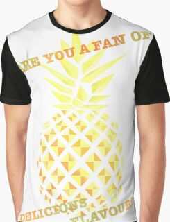 Are you a fan of delicious flavour? Graphic T-Shirt