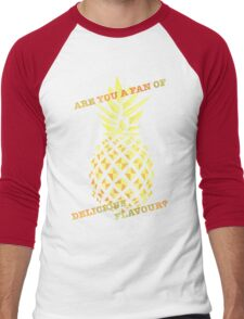 Are you a fan of delicious flavour? Men's Baseball ¾ T-Shirt
