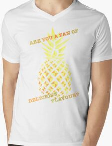 Are you a fan of delicious flavour? Mens V-Neck T-Shirt