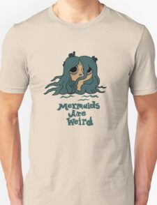The Marvelous Misadventures of Flapjack Mermaids Are Weird Unisex T-Shirt