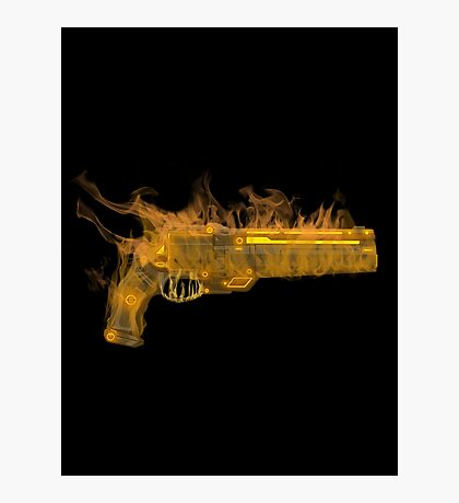 Golden Gun Photographic Print