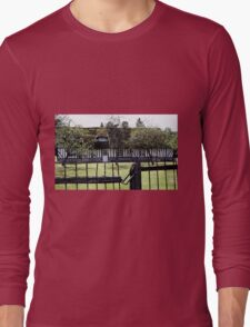 Paysages Normandie LOVE  landscapes 21 (c)(t) canon eos 5 by Olao-Olavia / Okaio Créations   1985 Long Sleeve T-Shirt