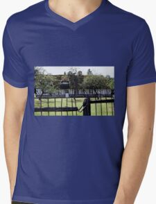 Paysages Normandie LOVE  landscapes 21 (c)(t) canon eos 5 by Olao-Olavia / Okaio Créations   1985 Mens V-Neck T-Shirt