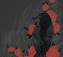 Crows are Cool by Stephanie Kenzie