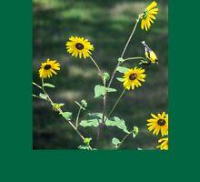 Sunflower Finch Womens Fitted T-Shirt