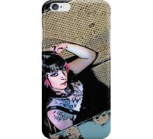 Steam Trunk Girl iPhone Case/Skin