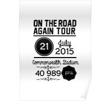 21st July - Commonwealth Stadium OTRA Poster