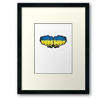 Ukraine! Framed Print