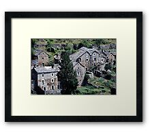 Paysages vieux village France landscapes 23 (c)(h) canon eos 5 by Olao-Olavia / Okaio Créations   1985 Framed Print