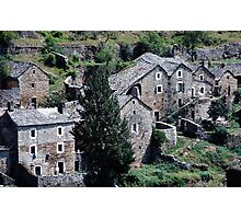 Paysages vieux village France landscapes 23 (c)(h) canon eos 5 by Olao-Olavia / Okaio Créations   1985 Photographic Print