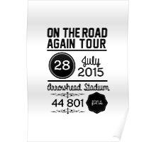 28th July - Arrowhead Stadium OTRA Poster
