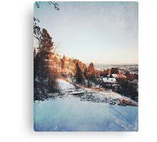 Trondheim. Canvas Print