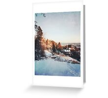 Trondheim. Greeting Card