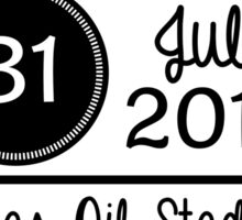 31st July - Lucas Oil Stadium OTRA Sticker